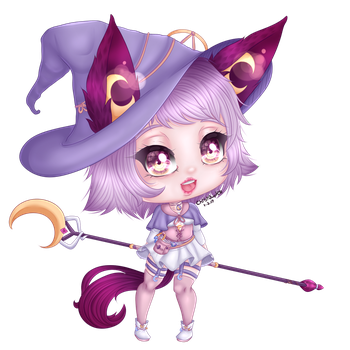 {CM} Moonlight Witch by ChibiOverKill