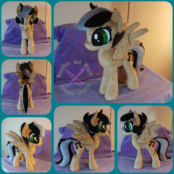 My Little Pony Artsong OC Plush Trade by Dawning-Love