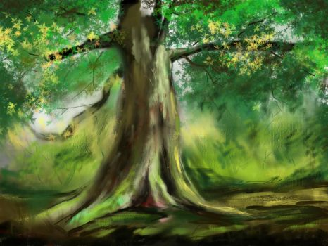 tree study by consistor1