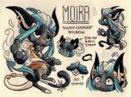 Moira Ref. Sheet [Commission w/ Outfit Design] by Pollock-InThe-Toilet