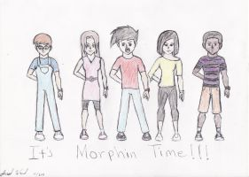 Project 3 It's Morphin Time by Jred20