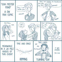 DW: Ooh Mister Pond by weallscream4icecream
