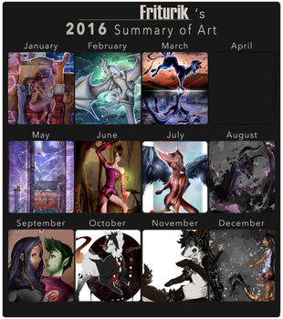 Summary art 2016 by Miaein