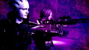 Heather Shepard and Aria - Vengeance is Mine by heather-shepard