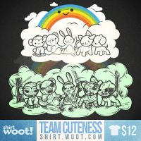 Team Cuteness SHIRT AVAILABLE! by AlbertoArni
