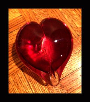 Glass Heart by pontil