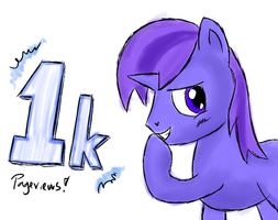 1000 Pageviews yay! by Snetri