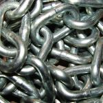 Steel Metal Chain Texture by FantasyStock