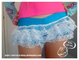 frilly shorties by love-on-a-stick