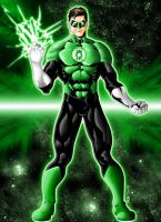 DCnU Green Lantern-Colors by JeanSinclairArts