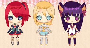 Adoptables - Batch 9 [CLOSED] by MidnightAdoptss
