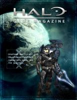 Halo Game Magazine Cover by Mihaii