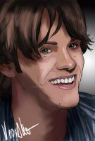 Sammy - Jared Padalecki by verkoka
