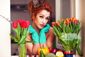spring housewife by michalobrzut