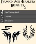 Dragon Age Heraldry Brushes- 2 by Korbeaux