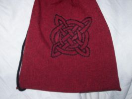 Celtic Knot Embroidery by stardove3