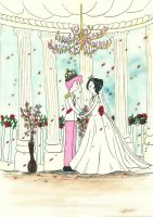 Just married... by mae0796