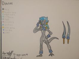 Character Update: Diacos by Dell-AD-productions