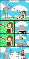 BXF - Silver and Redhead by Anna-Autobot12
