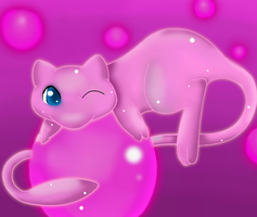 .:Mew:. by Ink-Leviathan