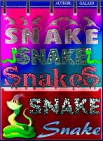 Styles for Photoshop Queen Snakes by Gala3d