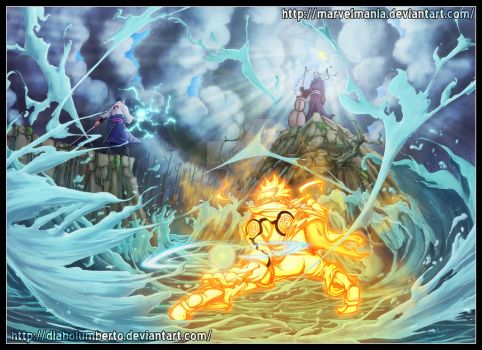 Naruto : The final battle by diabolumberto