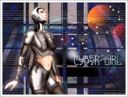 Cyber Girl by Shaiya77