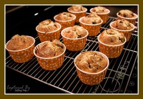 Chocolate Chips Muffins 01 by PoodleSchmoodle