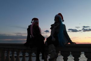 Vivi and Bonney - Merry Christmas by Cosmy-Milord