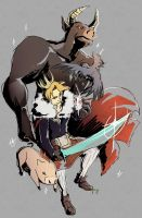 the mad king and his pets by T3hb33