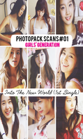 Photopack Scans#01 SNSD_Into The New World by Solita-San