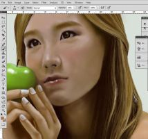 WIP taeyeon by anosa228