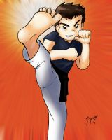Karate Boy by MarioRoz