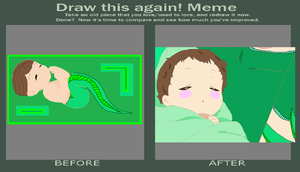 Before and After Cody (Emily and Nick's son) by SassyDragon18