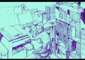 workspace 2010 by miabu