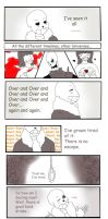 What keeps him going - Undertale Comic by ImperialCharles