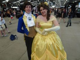 Supanova 2012 Beauty and The Beast (Belle+Prince) by nkbswe5