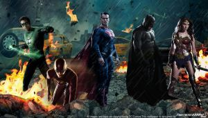 Justice League Movie Wallpaper Widescreen by Timetravel6000v2