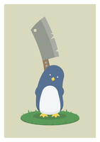 Cleaver Penguin by mrtnmccn