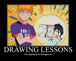 Bleach Drawing Lessons by egyptianpanda