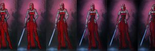 Sith female step by step by Peter-Ortiz