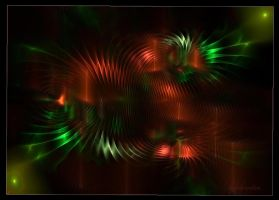apophysis fractal  wallpaper by SvitakovaEva