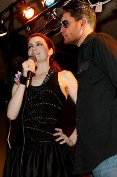 Jensen Ackles and Felicia Day Charlie Dean (demon) by FeliciaJensen4ever
