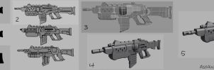Assault Rifle Process by ZackF
