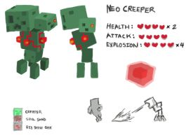 Fake Mob: Neo Creeper by Astrix-Phneuman