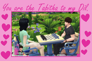 DanandphilValentine: Dil and Tabitha by FrozenClaws