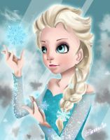 Elsa ...:Queen of Arendelle:... by Espliego