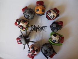 Slipknot chibi 1st disc 2 by slipkrich