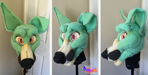 (WIP) Kirby Fursuit Head by TECHNlCOLOUR