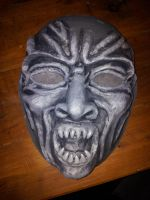 Weeping Angel Mask by superstar727